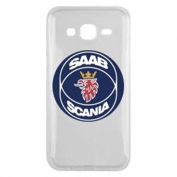 Чехол для Samsung J5 2015 SAAB Scania