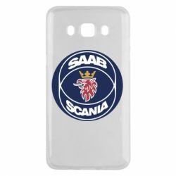 Чехол для Samsung J5 2016 SAAB Scania
