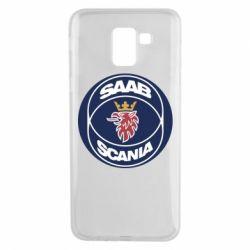 Чехол для Samsung J6 SAAB Scania