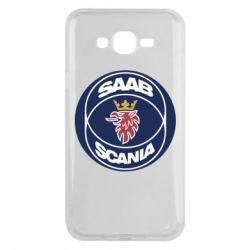 Чехол для Samsung J7 2015 SAAB Scania