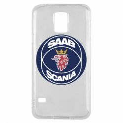 Чехол для Samsung S5 SAAB Scania