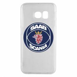 Чехол для Samsung S6 EDGE SAAB Scania