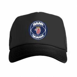 Кепка-тракер SAAB Scania