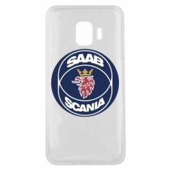 Чехол для Samsung J2 Core SAAB Scania