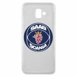 Чехол для Samsung J6 Plus 2018 SAAB Scania