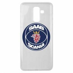 Чехол для Samsung J8 2018 SAAB Scania