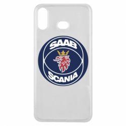 Чехол для Samsung A6s SAAB Scania