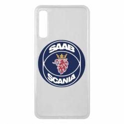 Чехол для Samsung A7 2018 SAAB Scania