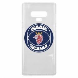 Чехол для Samsung Note 9 SAAB Scania