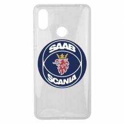 Чехол для Xiaomi Mi Max 3 SAAB Scania