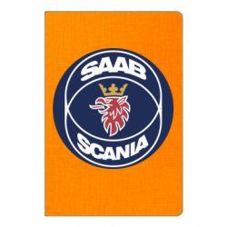 Блокнот А5 SAAB Scania