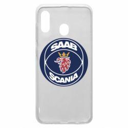 Чехол для Samsung A20 SAAB Scania