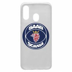 Чехол для Samsung A40 SAAB Scania