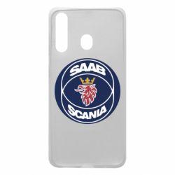 Чехол для Samsung A60 SAAB Scania