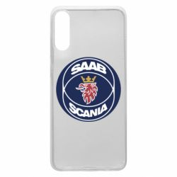 Чехол для Samsung A70 SAAB Scania