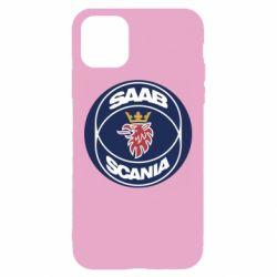 Чехол для iPhone 11 SAAB Scania