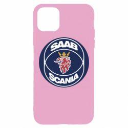 Чехол для iPhone 11 Pro Max SAAB Scania