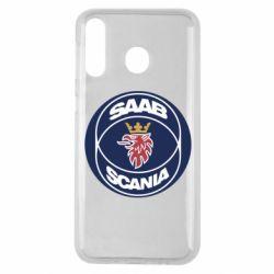 Чехол для Samsung M30 SAAB Scania