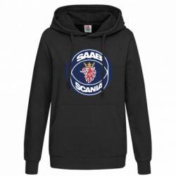 Женская толстовка SAAB Scania