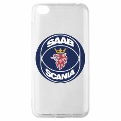 Чехол для Xiaomi Redmi Go SAAB Scania
