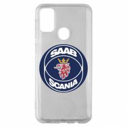 Чехол для Samsung M30s SAAB Scania