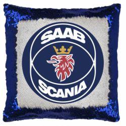 Подушка-хамелеон SAAB Scania