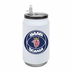 Термобанка 350ml SAAB Scania