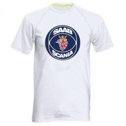 Мужская спортивная футболка SAAB Scania