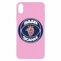 Чехол для iPhone X/Xs SAAB Scania