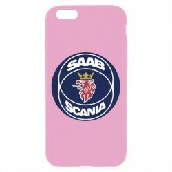 Чехол для iPhone 6 Plus/6S Plus SAAB Scania