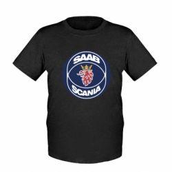 Детская футболка SAAB Scania