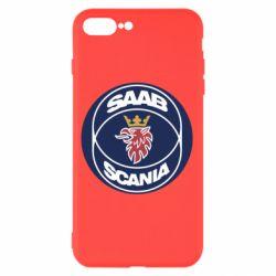 Чехол для iPhone 8 Plus SAAB Scania