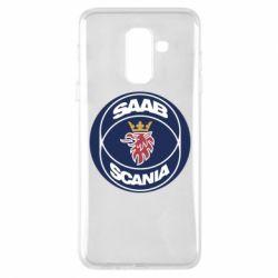 Чехол для Samsung A6+ 2018 SAAB Scania