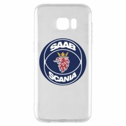 Чехол для Samsung S7 EDGE SAAB Scania