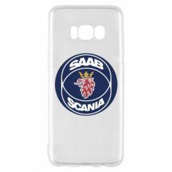 Чехол для Samsung S8 SAAB Scania