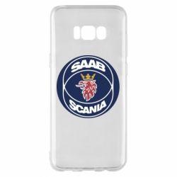 Чехол для Samsung S8+ SAAB Scania