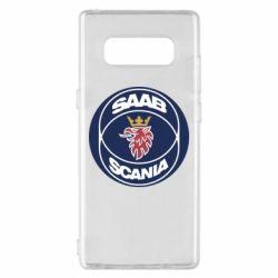 Чехол для Samsung Note 8 SAAB Scania