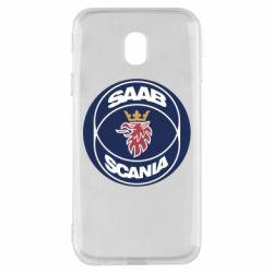 Чехол для Samsung J3 2017 SAAB Scania