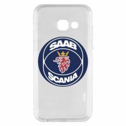Чехол для Samsung A3 2017 SAAB Scania