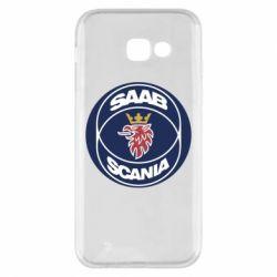 Чехол для Samsung A5 2017 SAAB Scania