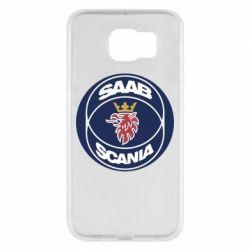 Чехол для Samsung S6 SAAB Scania