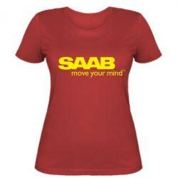 Женская футболка SAAB