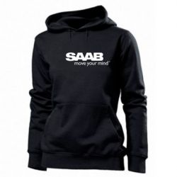 Женская толстовка SAAB - FatLine