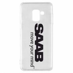 Чехол для Samsung A8 2018 SAAB