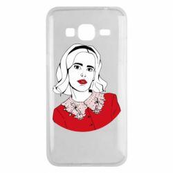 Чехол для Samsung J3 2016 Sabrina art