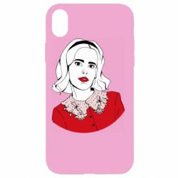 Чехол для iPhone XR Sabrina art