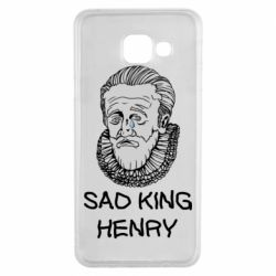 Чехол для Samsung A3 2016 Sad king henry