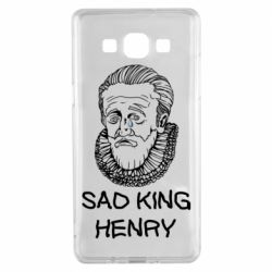Чехол для Samsung A5 2015 Sad king henry