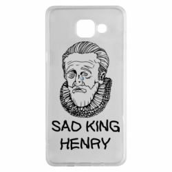 Чехол для Samsung A5 2016 Sad king henry