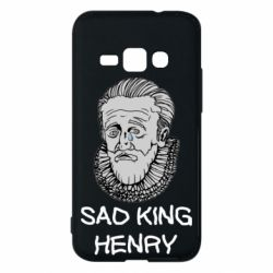 Чехол для Samsung J1 2016 Sad king henry